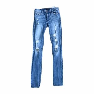 Abercrombie and Fitch Skinny Distressed Jeans